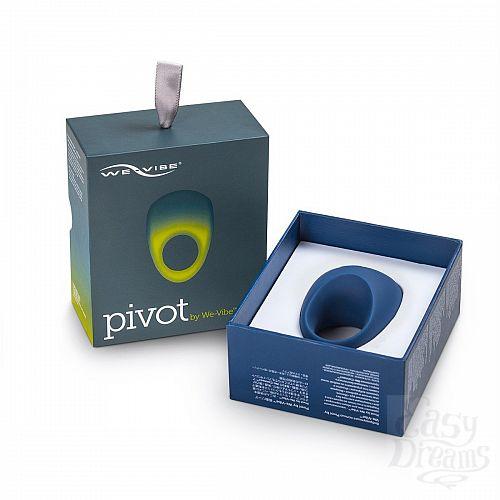 Фотография 7 We-Vibe Новинка. Мощное виброкольцо на пенис, с управлением со смартфона - Pivot By We Vibe , Синий
