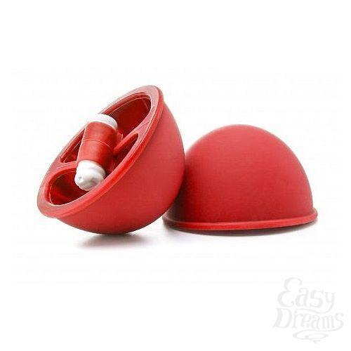 Фотография 1:  Красные вакуумные присоски с вибрацией Vibrating Suction Cup