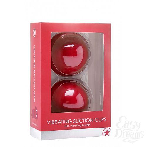 Фотография 2  Красные вакуумные присоски с вибрацией Vibrating Suction Cup