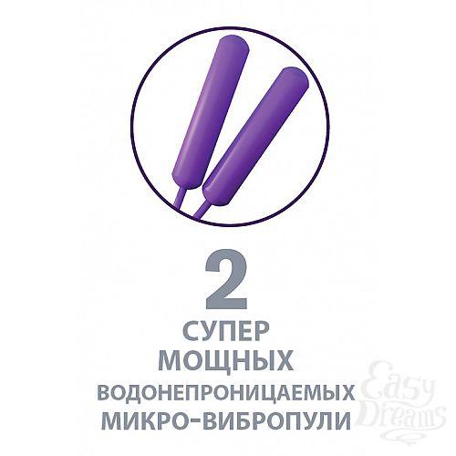 Фотография 8 PipeDream Эрекционное кольцо Twin Teazer Rabbit Ring, 3.5 и 3.2 см