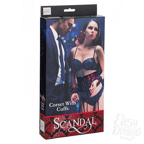 Фотография 2 Scandal Корсет с наручниками Scandal