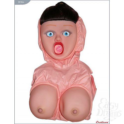 Фотография 5  Надувная кукла «Брюнетка» с большой грудью