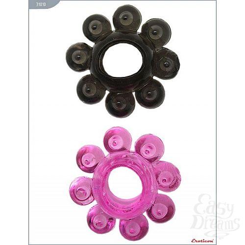 Фотография 3  Набор из 6 эрекционных колец различной формы и цвета