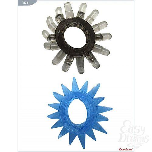 Фотография 5  Набор из 6 эрекционных колец различной формы и цвета