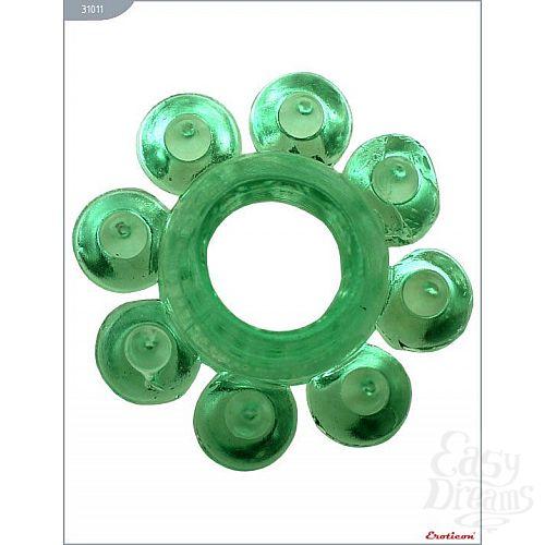 Фотография 1:  Эрекционное кольцо с виде цветка