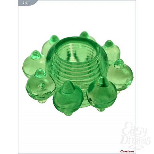 Фотография 2  Эрекционное кольцо с виде цветка