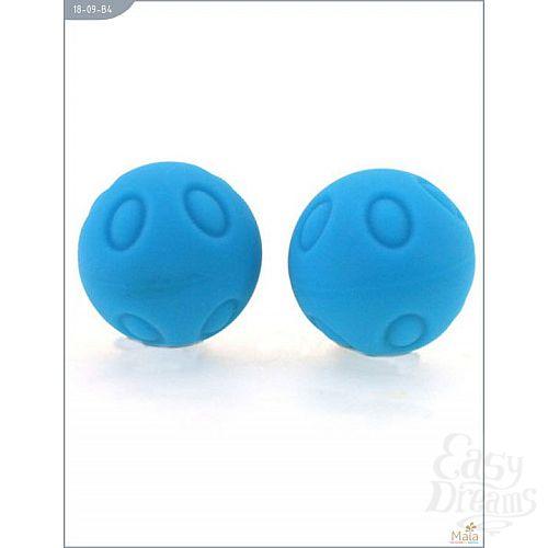 Фотография 1:  Металлические шарики Wicked с голубым силиконовым покрытием
