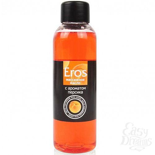 Фотография 1:  Массажное масло Eros exotic с ароматом персика - 75 мл.