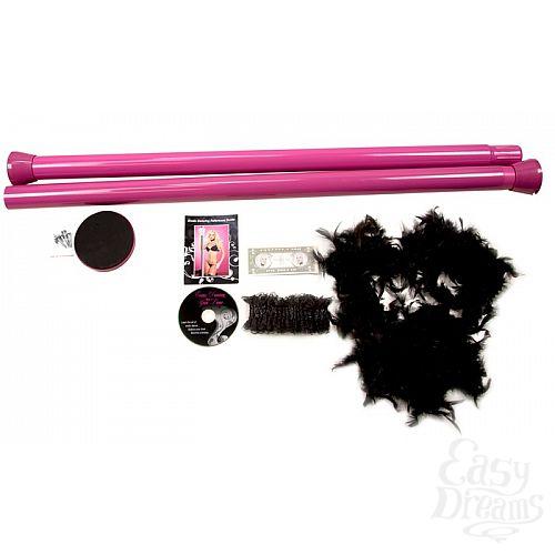 Фотография 2 Topco Sales Танцевальный шест Private Dancer Pole Kit, 2.70 м