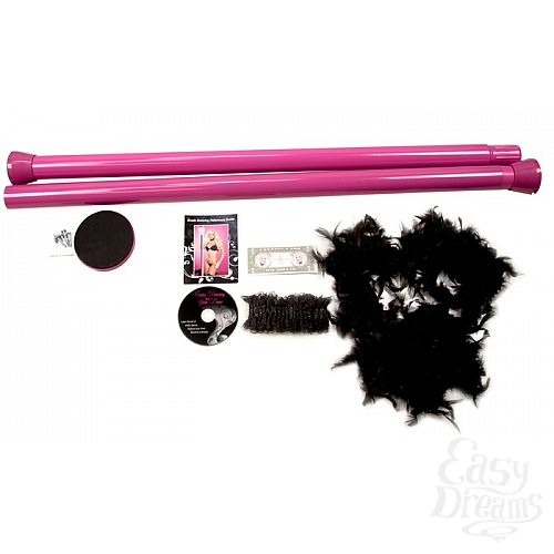 Фотография 2 Topco Sales Танцевальный шест Private Dancer Pole Kit, 2.70 м