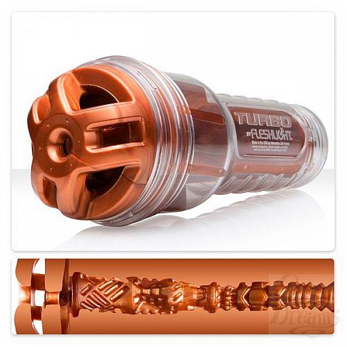 Фотография 1: Fleshlight Мастурбатор Fleshlight Turbo Ignition, 25 см, Голубой