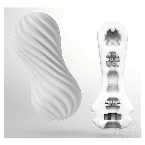 Фотография 1:  Мастурбатор FLEX Silky White с мягким рельефом