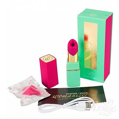Фотография 6 Womanizer Womanizer 2Go - вакуумный стимулятор клитора, цвет - мятно-розовый