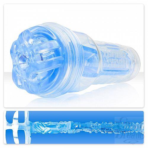 Фотография 1:  Мастурбатор Fleshlight Turbo - Ignition Blue Ice