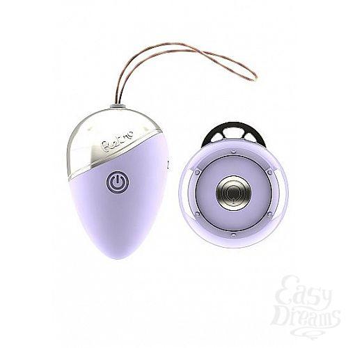 Фотография 1:  Фиолетовое виброяйцо Isley с пультом ДУ