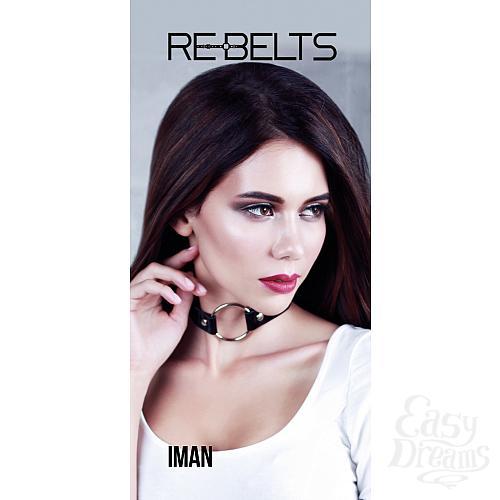 Фотография 1: Rebelts Кляп Iman Black 780001rebelts