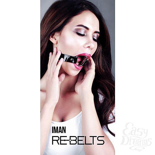 Фотография 2 Rebelts Кляп Iman Black 780001rebelts
