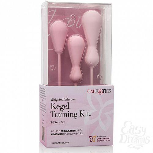 Фотография 4 California Exotic Novelties Набор Inspire Weighted Kegel Training Kit, 3.75 см.