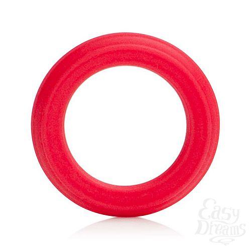 Фотография 1:  Красное эрекционное кольцо Caesar Silicone Ring