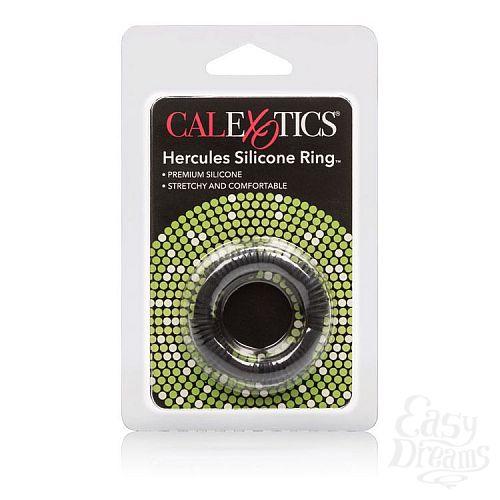 Фотография 3  Чёрное эрекционное кольцо Adonis Silicone Rings Hercules