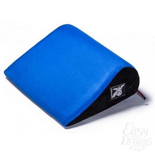 Фотография 1:  Синяя малая замшевая подушка для любви Liberator Retail Jaz
