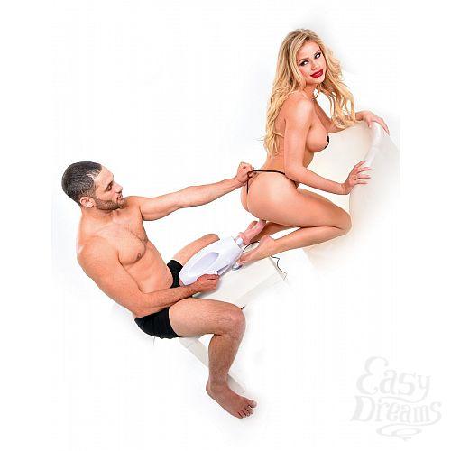 Фотография 8  Вибромассажер для пар с пультом ДУ International Couples Sex Machine