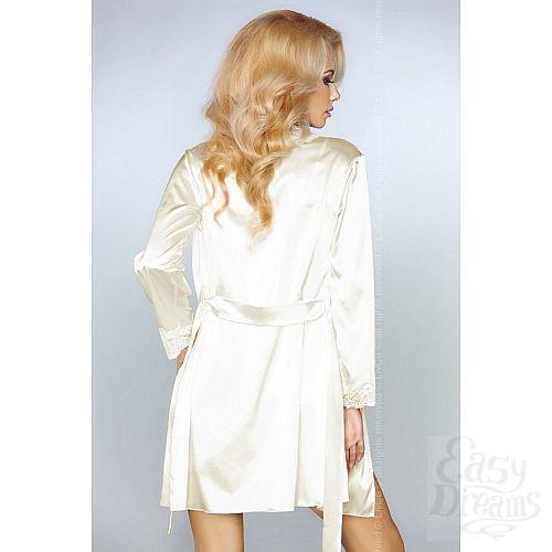 Фотография 2  Роскошный ночной комплект Jacqueline: пеньюар, сорочка и трусики-стринги