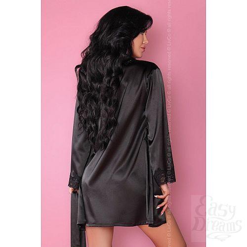 Фотография 7  Роскошный ночной комплект Jacqueline: пеньюар, сорочка и трусики-стринги