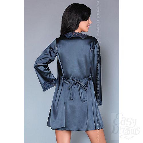 Фотография 9  Роскошный ночной комплект Jacqueline: пеньюар, сорочка и трусики-стринги