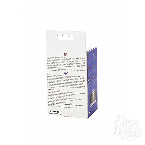Фотография 9  Фиолетовая анальная втулка Toyfa A-toys - 10,2 см.