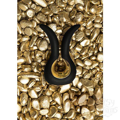 Фотография 13 FT London (Fun Toys) NEW! Красивый вибратор Gvibe Mini Gold, с покрытием золотом - Gvibe (FT London). Ограниченная серия!, Черный