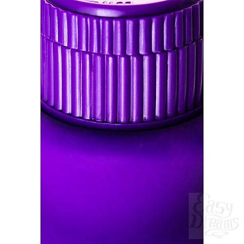 Фотография 6  Фиолетовый фигурный вибратор - 17 см.
