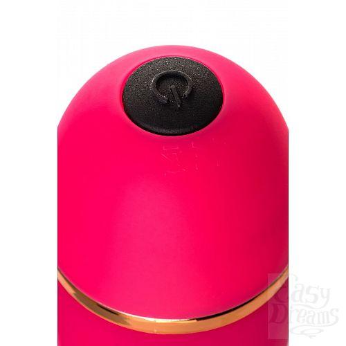 Фотография 7  Розовый вибратор с шаровидной головкой - 20 см.