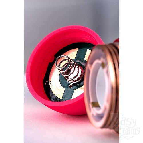 Фотография 8  Розовый вибратор с шаровидной головкой - 20 см.