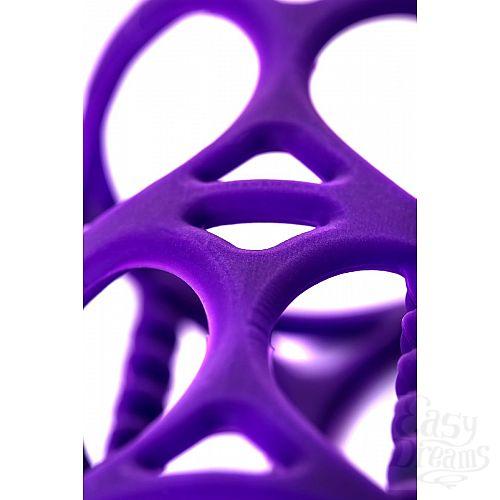 Фотография 5  Фиолетовая насадка-сетка на член