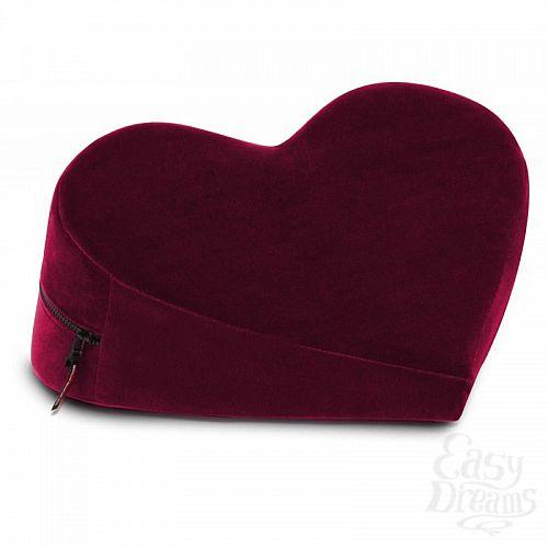 Фотография 2 LIBERATOR Liberator Retail Heart Wedge - подушка для любви в виде сердца