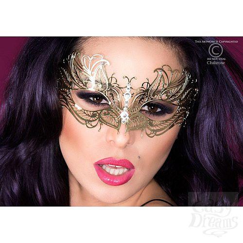 Фотография 1:  Карнавальная маска Chilirose