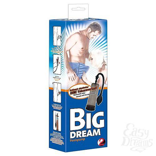 Фотография 3  Дымчатая вакуумная помпа для пениса Big Dream
