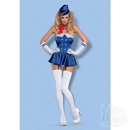 Фотография 1: Obsessive Костюм Stewardess от Obsessive