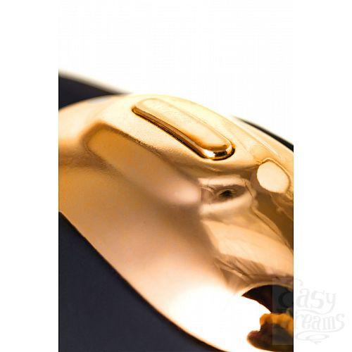 Фотография 9  Чёрно-золотой клиторальный вибромассажер WANAME Wave