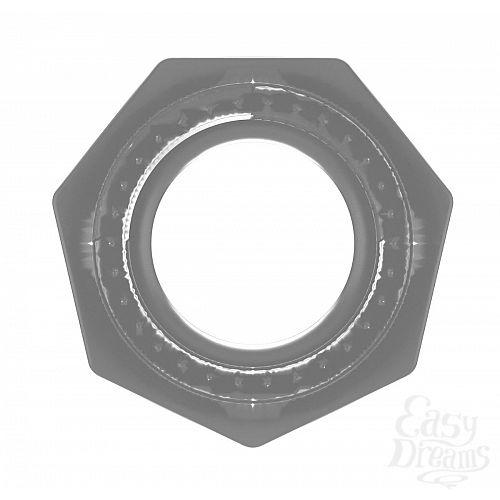 Фотография 2  Прозрачное эрекционное кольцо No.43 Cockring