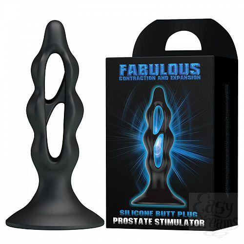 Фотография 2  Анальный стимулятор простаты Fabulous - 12,2 см.