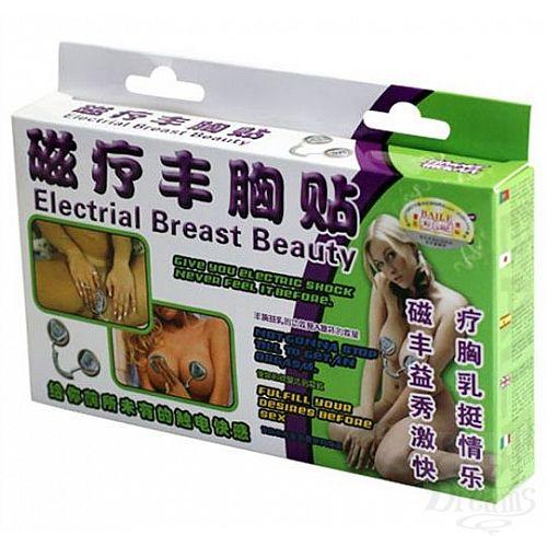 Фотография 2  Электростимулятор с двумя присосками для груди или клитора Electrial Breast Beauty