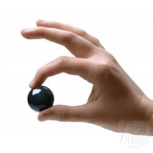 Фотография 2  Темно-зеленые вагинальные шарики Jaded Glass Ben Wa Balls