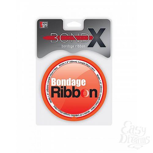 Фотография 2  Красная лента для связывания BONDX BONDAGE RIBBON - 18 м.