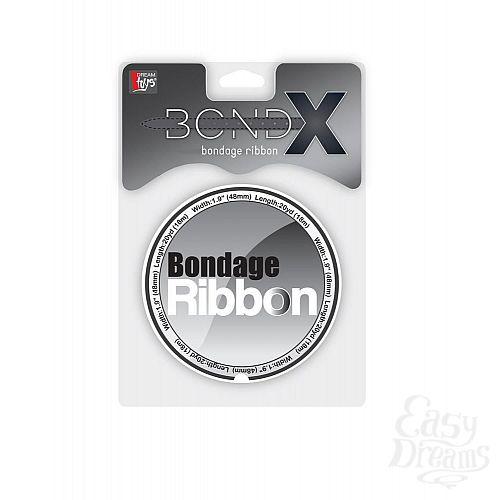 Фотография 2  Белая лента для связывания BONDX BONDAGE RIBBON - 18 м.