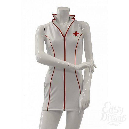 Фотография 3  Платье медсестры с воротником-стойкой Datex Nurse Dress
