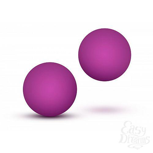 Фотография 1:  Розовые вагинальные шарики Double O Beginner Kegel Balls