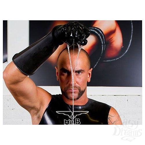 Фотография 3  Резиновые перчатки Thick Industrial Rubber Gloves 9