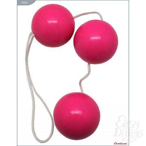 Фотография 2  Розовые тройные вагинальные шарики